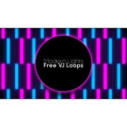 Modern Lights Free VJ Loops