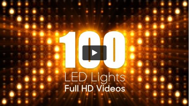 100 LED Lights