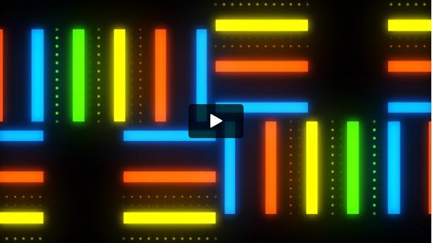 Neon Strip Lights ( Free VJ Loop )